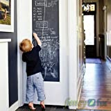 DIY Removable Wall Stickers Removable Blackboard Decals Great Gift for Kids 45cmx200cm with 5 Free Chalks B2