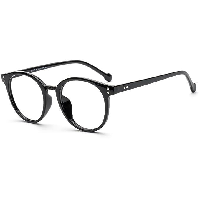 Amazon.com: DONNA Popular Transparent Glasses Frames Non ...