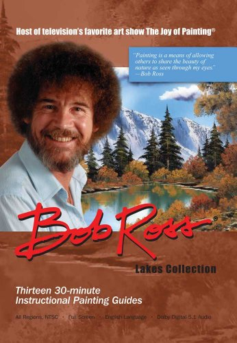 Bob Ross Joy Of Painting: Lakes 3 DVD Collection by BobRoss