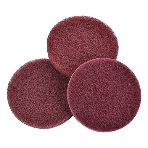CUH Power Scrubber Replacement Scouring Pad (3 Packs)