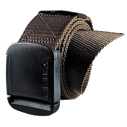 Brown Web Belt - 1.5 Inch Wide Men's Nylon Web Belt with High-Strength Adjustable Buckle (XX-Large, Brown)