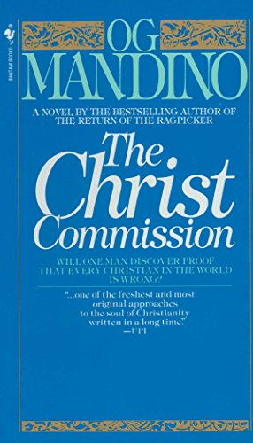 Books : The Christ Commission: Will One Man Discover Proof That Every Christian in the World Is Wrong?