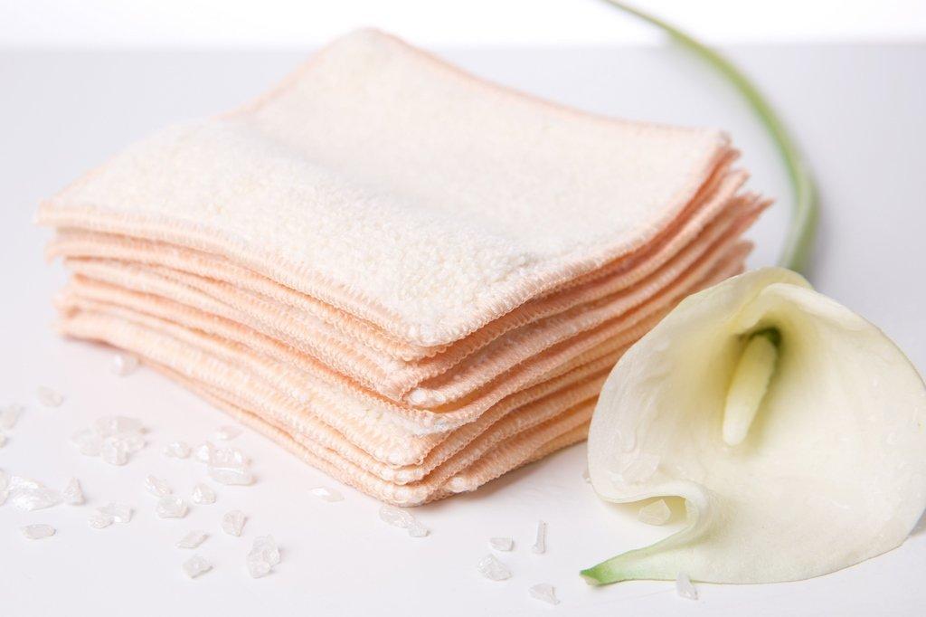 timespring, salviette struccanti, riutilizzabili, lavabili–per una pulizia ecologica della pelle senza prodotti chimici, alternativa ai dischetti levatrucco, in panno di microfibra, Micropile