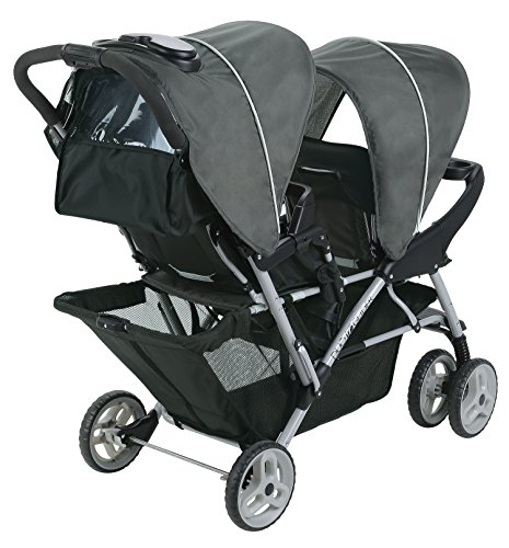 graco duoglider click connect stroller glacier import it all. Black Bedroom Furniture Sets. Home Design Ideas