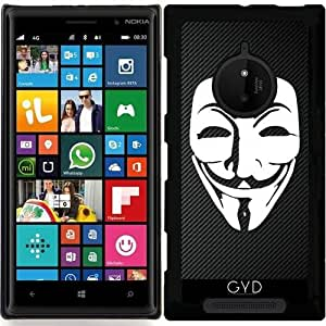 Funda para Nokia Lumia 830 - De Fibra De Carbono En El Anonimato by Spycker