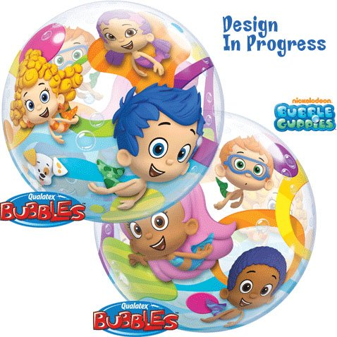 Ballooney's~Bubble Guppies 22 inch Bubble -