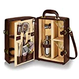 Picnic Time 'Manhattan' Insulated Two-Bottle Cocktail Set, Mahogany