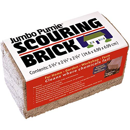 U. S. Pumice Jumbo Scouring Brick JPS-12 (Scouring Brick)