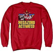 Mighty Morphin Power Rangers Megazord Activated Adult Crewneck Sweatshirt