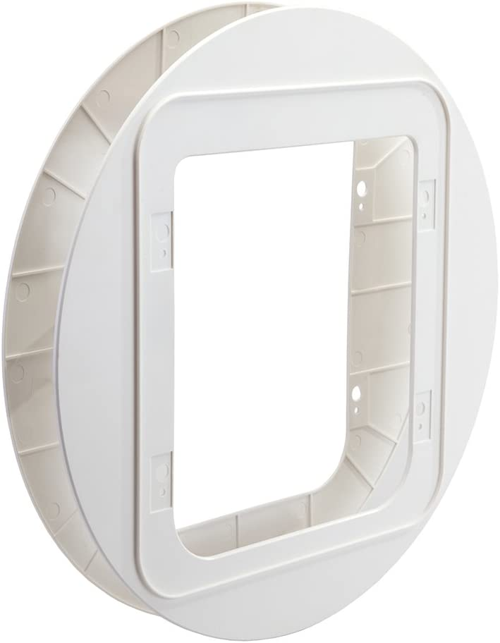 SureFlap Mascota Adaptador de Montaje de Puerta, Color Blanco