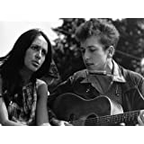 """Photography Poster - Civil Rights March on Washington D.C. (Joan Baez and Bob Dylan) 08-28-1963 11"""" x 17"""""""