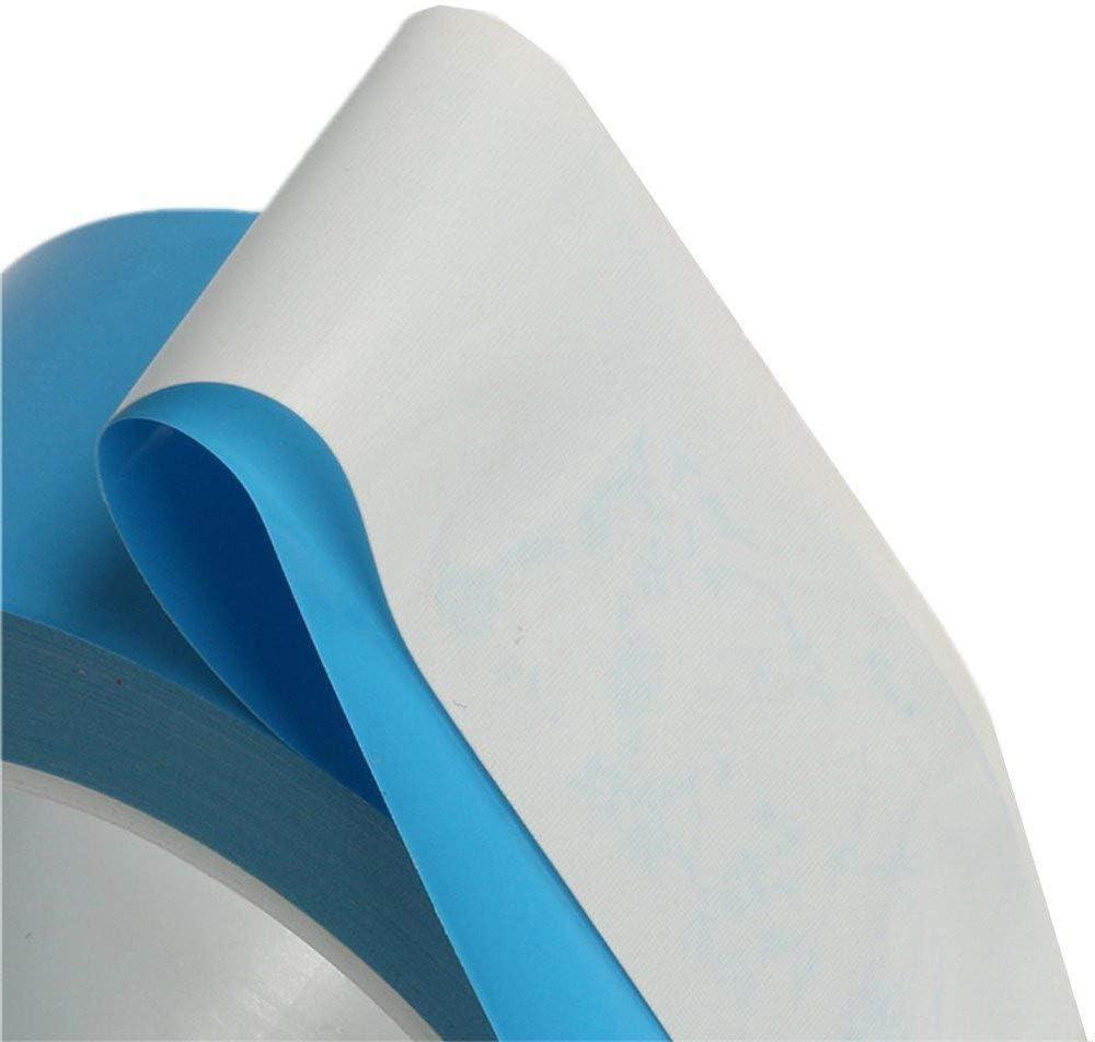 Alta Conductividad T/érmica 1pc 25m Cinta Adhesiva T/érmica de Doble Cara para Iluminaci/ón LED Televisores IC y LED con Excelente Aislamiento CTRICALVER Cinta Adhesiva T/érmica