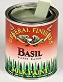 General Finishes Water Based Milk Paint, 1 Gallon, Basil Basil