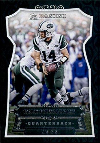 2016 Panini #15 Ryan Fitzpatrick New York Jets Football Card in Protective Screwdown Display Case