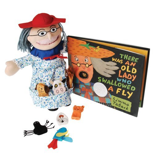 There Was an Old Lady Who Swallowed a Fly Puppet, Props, ...