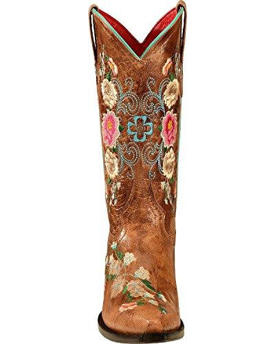 Macie Boon Dames Rozentuin Cowgirl Laars Knip Teen - M8012 Schat