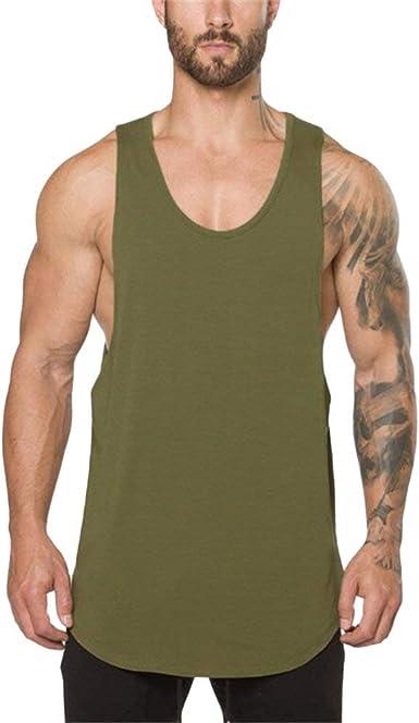 Echt Homme Débardeur T-shirt Gym Bodybuilding Fitness Muscle Entraînement Haut Sans Manches