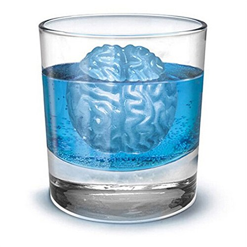 MAXFE.CO Gehirn Eisbox Blending Eiswürfelbox mit Deckel 1 Stück Eiswürfel Silikon Bier Eis Getränke Eis Cube Eismaschine in Kühlschrank