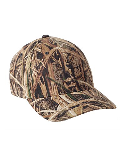 Flexfit Mossy Oak Pattern Camouflage Cap (6999)- Shadow Grass,Large/X-Large