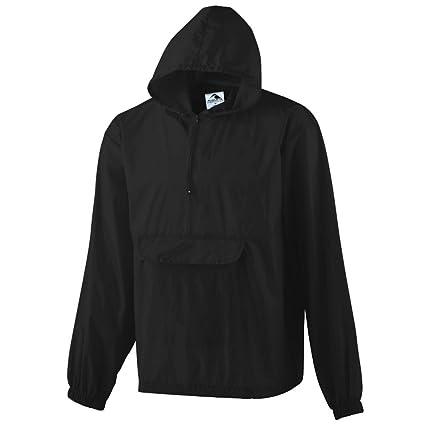 c74c21a0b20b Amazon.com  Augusta Sportswear Men s Pullover Jacket in A Pocket ...