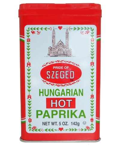 Traditional Hungarian Style Paprika - Hot (4 (Paprika Cream)