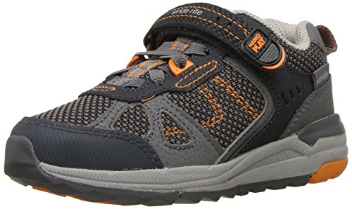 - Stride Rite Boys' Made 2 Play Owen Sneaker, Navy, 13 Medium US Little Kid