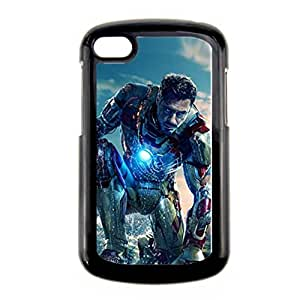 Generic Silicone Cute Phone Case For Boy Custom Design With Iron Man For Blackberry Q10 Choose Design 1