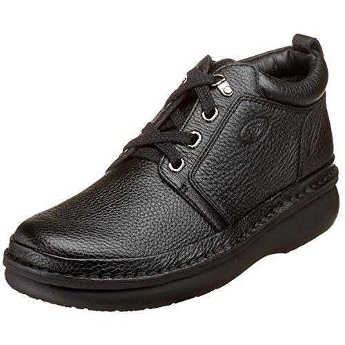 Propet Mens Villager Mid Shoe Nero 16 X (3e) E Oxy Pulitore Bundle