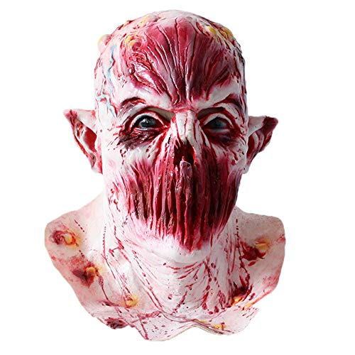 Halloween Zombie Mask Halloween Costume Party Mask Horror of the Zombie Mask Halloween Adult Mask Scary -