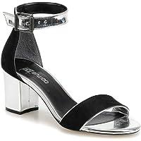 Butigo 19s-089 Siyah Kadın Sandalet