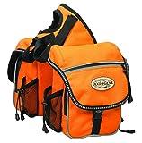 Weaver Leather Trail Gear Pommel Bag, Orange, 6 L x