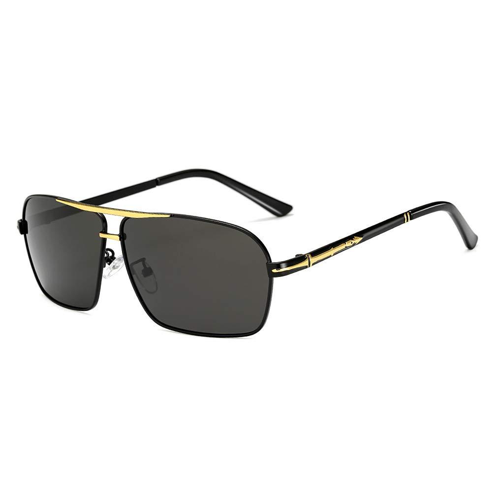 MXNET Gafas de Sol polarizadas Conductor al por Mayor Que Conduce la película de Color Gafas de Sol cuadradas Azules para los Hombres (Color : 3): ...