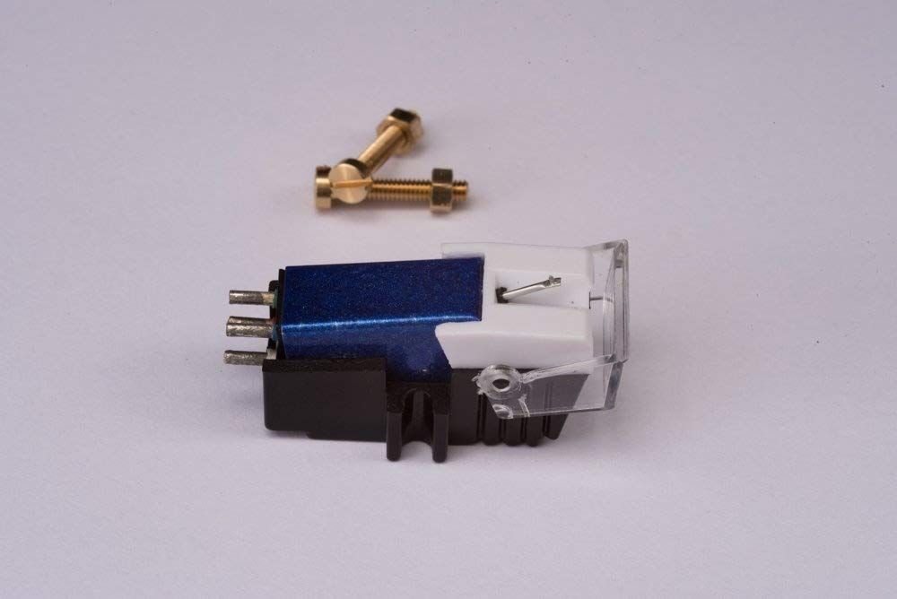 Cartridge and Stylus, needle with mounting bolts for Pioneer PL50, PL518, PL512, PL530, PL630, PLA45D, PLA35, PL516, PL88FS, PL61, PL600, X1300, PL335, PL120, PL30, PL320 Generic