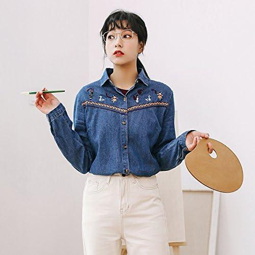 XXIN El Cowboy/Chica/Camisa/Jeans Camiseta Camisa Femenina/M ...