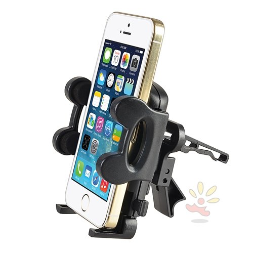 Everydaysource-Universal-Car-Air-Vent-Phone-Holder-15-to-43-inches-fully-extended-arms-Black