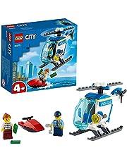 LEGO 60275 City Politiehelikopter met Minifiguren van Agent en Boef voor Jongens en Meisjes van 4+ Jaar