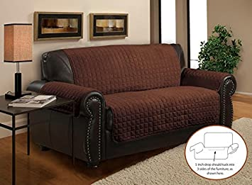 Amazoncom Home Sweet Deluxe Plush Quilted Furniture Sofa