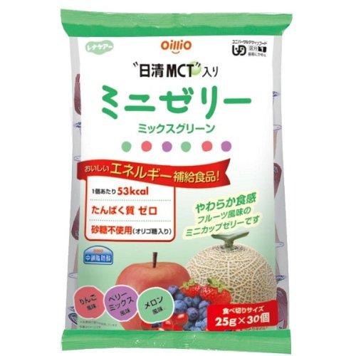 Renacare MCT mini jello mix green 30pcs (apple, berry, melon 10each)