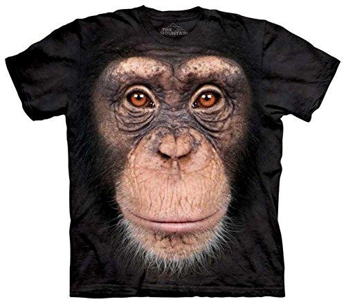 Chimp Face T-Shirt Size M (Chimp Face)