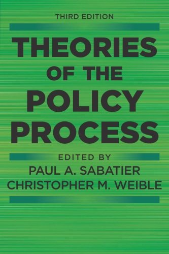 Theories Of Policy Process