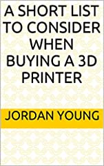 So you've just bought your first 3d printer, amazing right; or are you considering buying a new fancy, shiny, machine? Just think of all the possibilities that can be accomplished with this wonderful machine or the amazing things you're going...