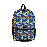 FAB Starpoint Backpack - Pokemon - Blue Pattern w/Friends 16