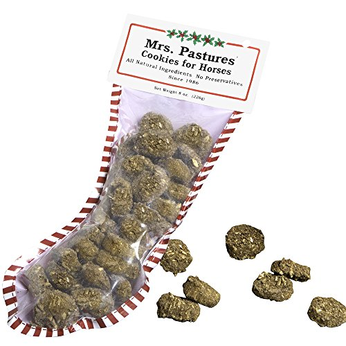 Cookie Horse Treats - Mrs Pastures Cookies For Horses Mrs Pasture s Cookies 8 oz Holiday Stocking 8OZ