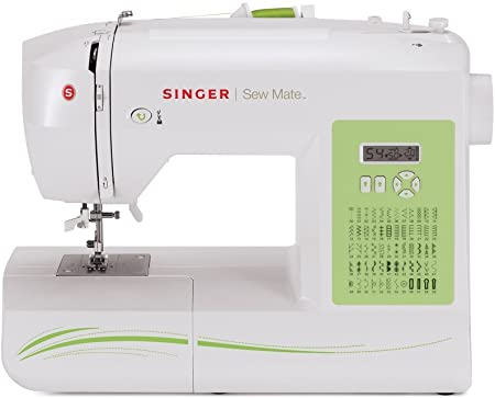 SINGER Sew Mate - Máquina de coser (Blanco, Máquina de coser ...