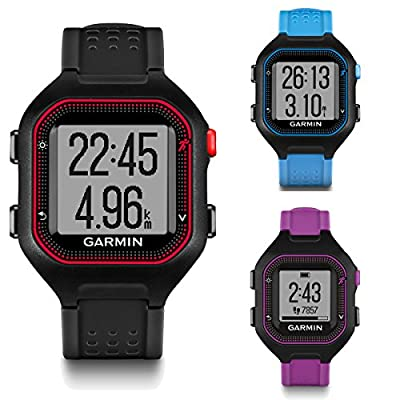 Garmin Forerunner 25 GPS Watch and Daily Activity Fitness Tracker (Certified Refurbished)