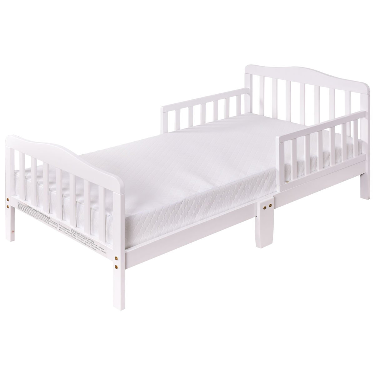 White Baby Bed With Ebook