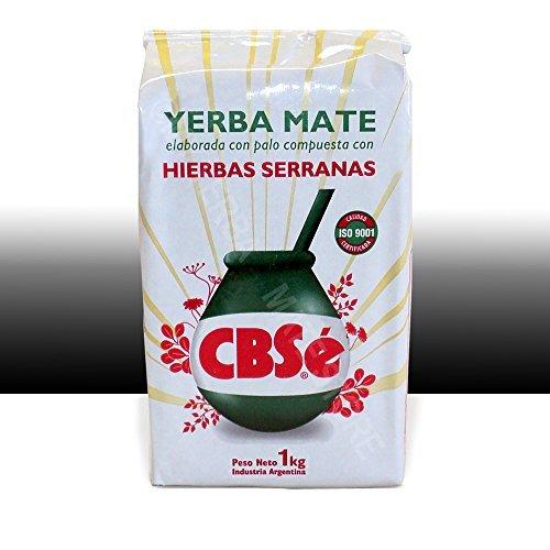 Tea Stop - Herbal Tea - CBSe Yerba Mate con Hierbas Serranas, 1 Kilo