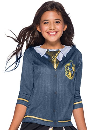 Harry Potter Costume Top, Hufflepuff, Large -