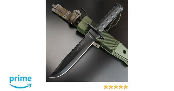 AITOR 16016. Cuchillo supervivencia Aitor Jungle King I - Negro