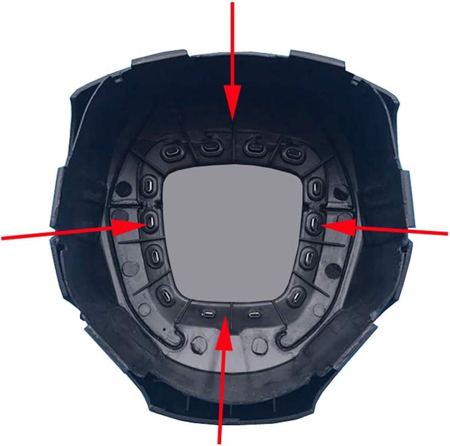 A3 8P S3 Emblem Silber Ring Lenkrad Abdeckung Blende in ABS Kunststoff Chrom f/ür A3 A4 B6 B7 B8 A6 C7 A5 Q7 Q5 A3 8P S3 Gl/änzend